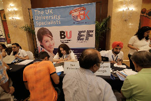 SI UK University Fair Delhi