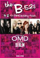 The B-52s With Special Guests OMD & Berlin
