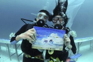 Trang Underwater Wedding Ceremony 2018