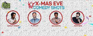 Xmas Eve Comedy Shots