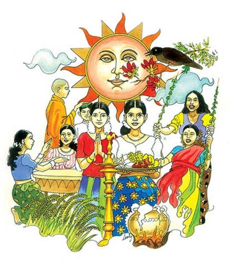 Sinhalese New Year 2019 In Sri Lanka Photos Fairfestival When Is