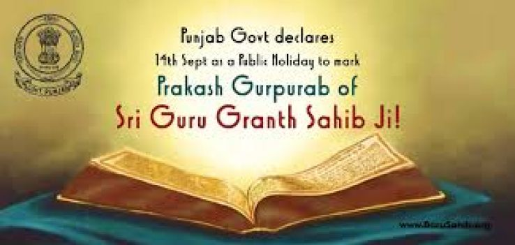Parkash Utsav Sri Guru Granth Sahib Ji 2019 in India, photos ...