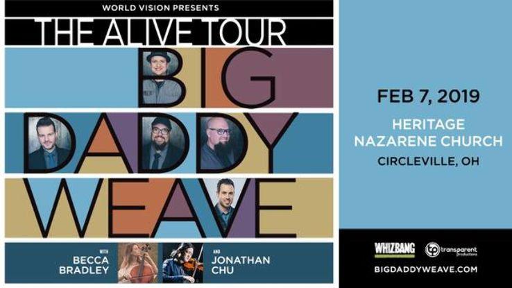 Big Daddy Weave Alive Tour 2019 In Heritage Nazarene Church