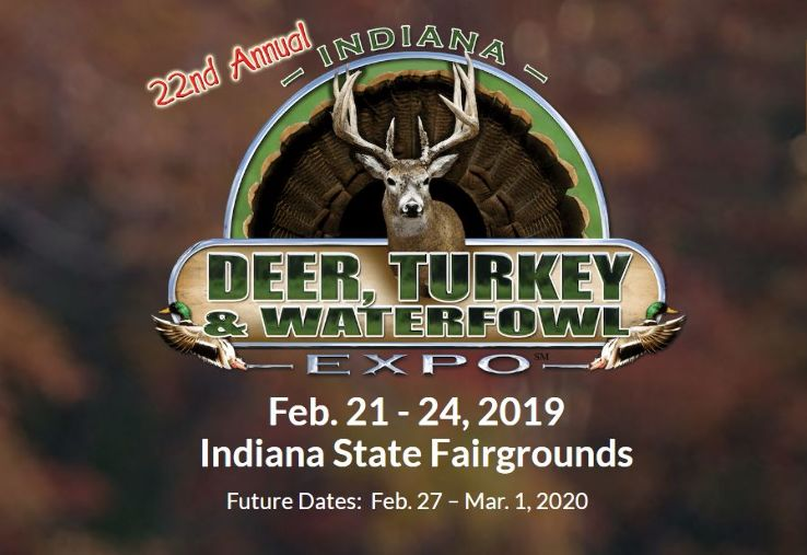 22nd Annual Indiana Deer, Turkey & Waterfowl Exposition 2019 in