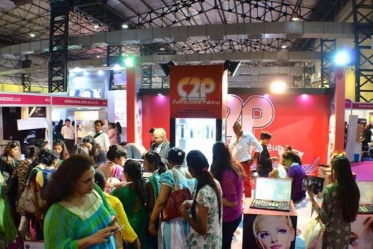 Professional Beauty Delhi 2019 in Pragati Maidan India