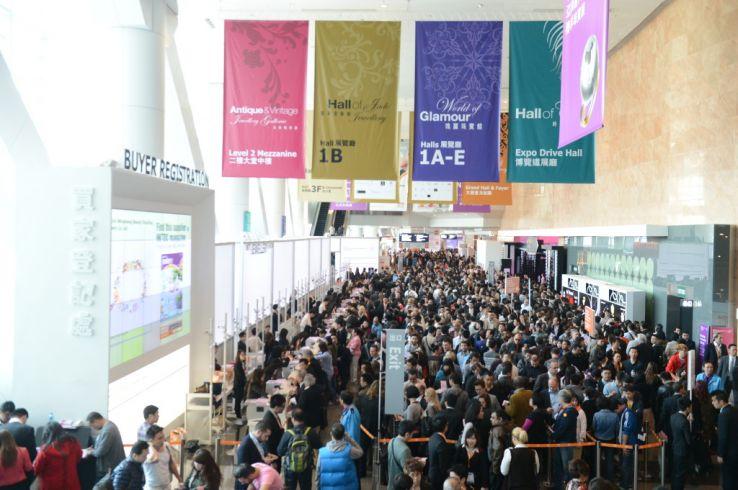 HKTDC Hong Kong International Jewellery Show 2019 in Hong Kong