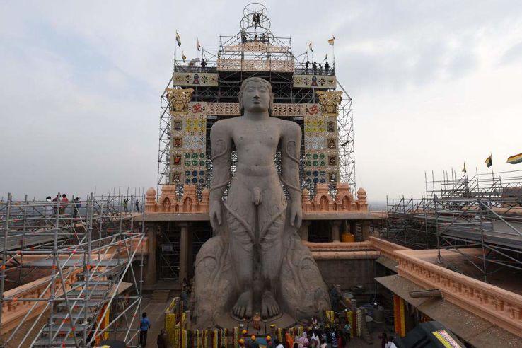 Mahamastakabhisheka 2019 in Shravanabelagola India, photos