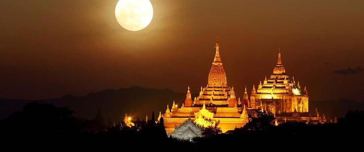 full moon day of tazaungmone 2019 in myanmar  photos  fair