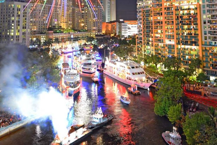 Fort Lauderdale Christmas Boat Parade.Winterfest Boat Parade 2019 In United States Of America