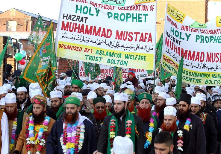 Birthday of the Prophet Muhammad 2019 in , photos, Carnival