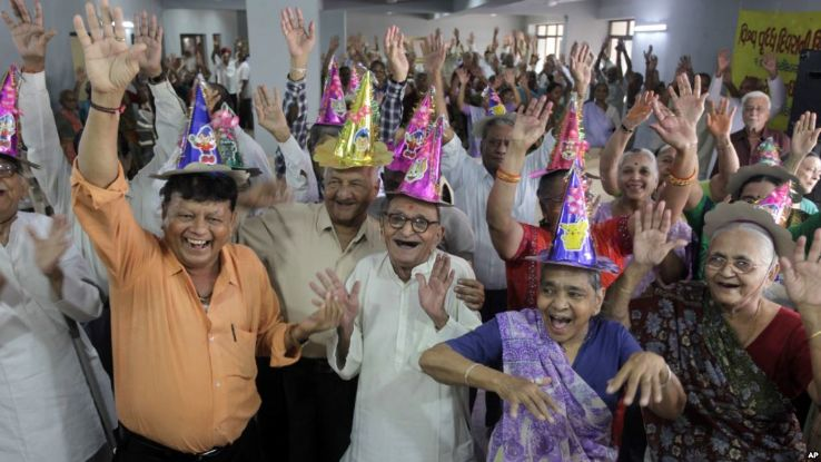 International Day for Elderly People 2019 in , photos