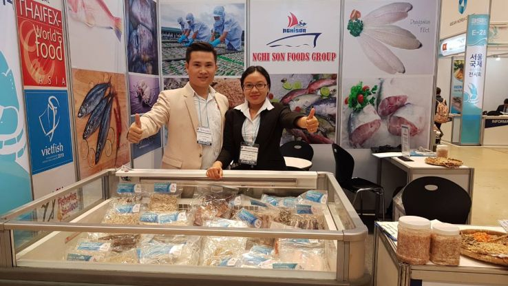 Seoul Int'l Seafood Show 2019 in COEX Mall South Korea, photos