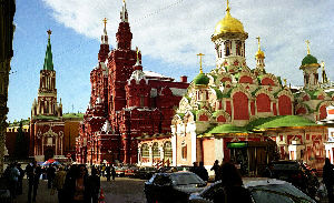 Places to visit in Moscow in Russia