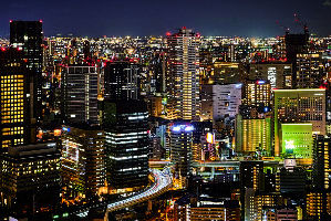 Places to visit in Osaka in Japan