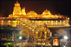 Best places for Temple in Tirupati in Andhra Pradesh in India