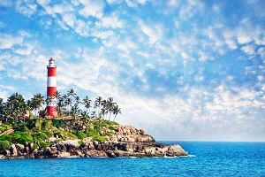 Best  Beach places in Kovalam in Kerala in India