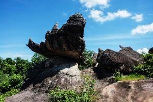 Mukdahan Rock Formations