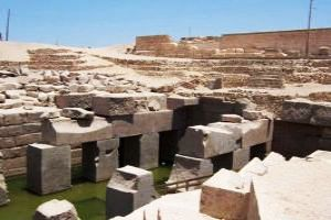 The Osirieon- Site of the Pre-dynastic Royal Graveyard