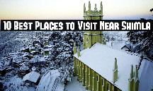 Holiday in Shimla with Chail Tour Package
