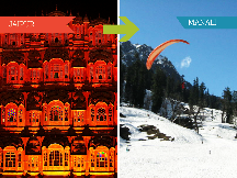 4 Days Amazing Mussoorie with Dhanaulti