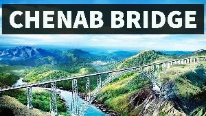 World Highest Rail Bridge Interesting Facts about Chenab Railway Bridge in Jammu and Kashmir