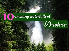 10 amazing waterfalls of Austria