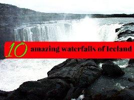 10 amazing waterfalls of Iceland