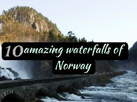 10 amazing waterfalls of Norway