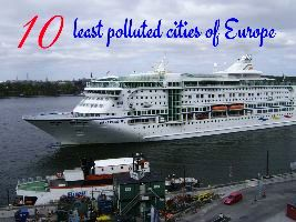 10 least polluted cities of Europe