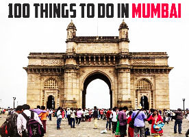 100 Things to do in Mumbai
