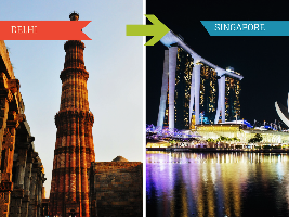 Top 5 Travel Agents for Singapore from Delhi