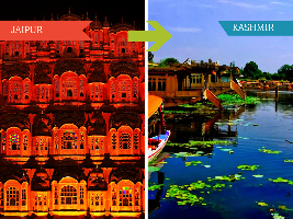 Top Travel Agent for Kashmir from Jaipur