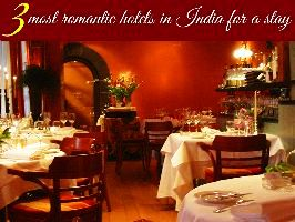 3 most romantic hotels in India for a stay