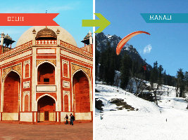 Top 3 Travel Agents for Manali from Delhi