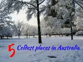 5 Coldest places in Australia