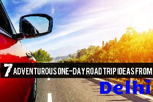 7 Adventurous One-Day Road Trip Ideas From Delhi