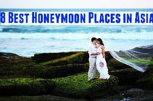 8 Best Honeymoon Places in Asia