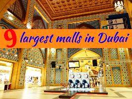 9 largest malls in Dubai