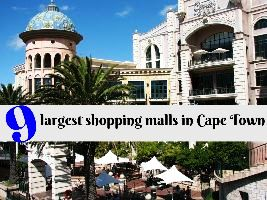 9 largest shopping malls in Cape Town