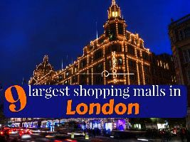 9 largest shopping malls in London