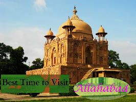 Best time to visit Allahabad