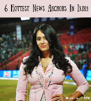 Hottest News Anchors In India - Guess who is No. 1