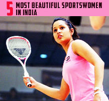 5 Most Beautiful Sportswomen in India