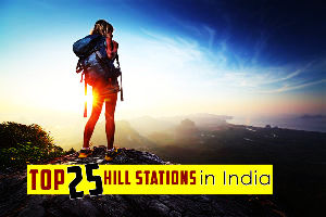 Top 25 Hill Stations in India