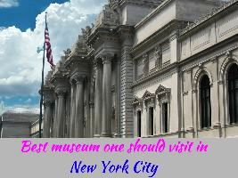 Best museum one should visit in New York City