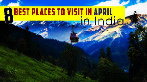 Places To Visit In April In India