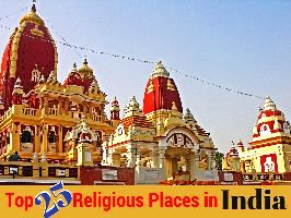 Top 25 Religious Places in India