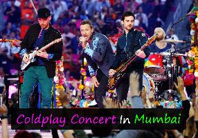 Coldplay Concert In Mumbai