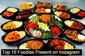 Top 10 Foodies Present on Instagram