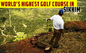 Worlds Highest Golf Course Suggested By Sikkim CM